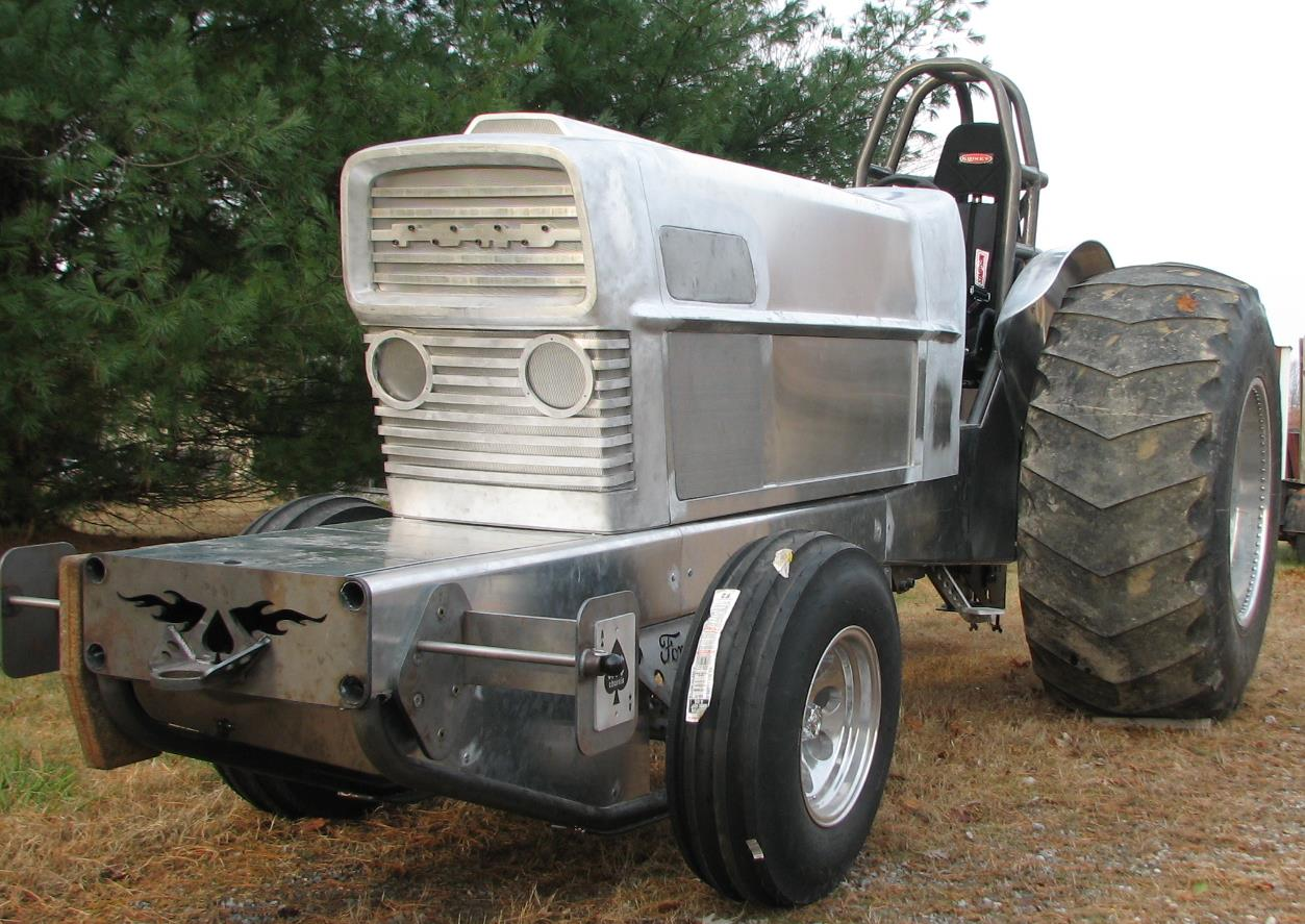 Custom Pulling Tractors and Parts